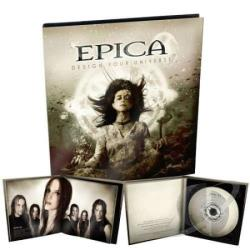 Epica - Design Your Universe CD Cover Art
