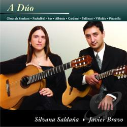 Saldaa, Silvana & Javier Bravo - Duo CD Cover Art