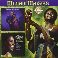 Makeba, Miriam - An Evening with Belafonte/Makeba/The Magic of Makeba CD Cover Art