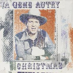 Autry, Gene - Gene Autry Christmas CD Cover Art