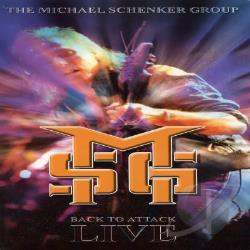 Schenker, Michael - Back To Attack: Live CD Cover Art