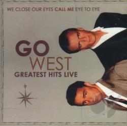 Go West - Greatest Hits Live CD Cover Art