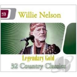 Nelson, Willie - Legendary Gold CD Cover Art