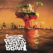 Gorillaz - Plastic Beach CD Cover Art