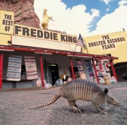 King, Freddie - Best Of Freddie King: The Shelter Years CD Cover Art