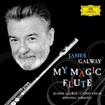 Finch / Galway, James / Sinfonia Varsovia - My Magic Flute CD Cover Art