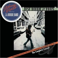 Johnny Rivers & His L.A. Boogie Band / Rivers, Johnny - Last Boogie in Paris CD Cover Art