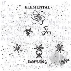 Page, Lloyd - Elemental Asylum CD Cover Art