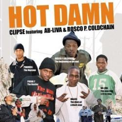 Clipse - Hot Damn LP Cover Art