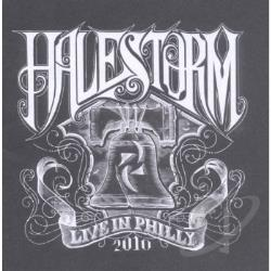 Halestorm - Live in Philly 2010 CD Cover Art