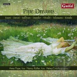 Crayford / Faure / Pope / Telemann / Vivaldi - Pipe Dreams CD Cover Art