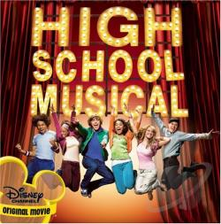 High School Musical CD Cover Art