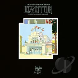 Led Zeppelin - Song Remains the Same LP Cover Art