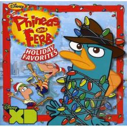 Phineas & Ferb Holiday Favourites CD Cover Art