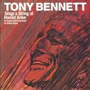 Bennett, Tony - Sings A String Of Harold Arlen CD Cover Art