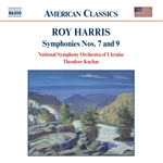 Harris / Kuchar / Nat'L So Of Ukraine - Roy Harris: Symphonies Nos. 7 & 9 CD Cover Art