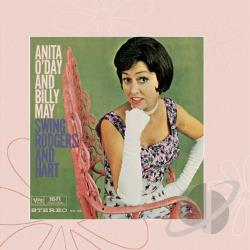 O'Day, Anita - Anita O'Day And Billy May Swing Rodgers And Hart CD Cover Art
