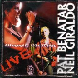 Benatar, Pat - Summer Vacation Tour Live CD Cover Art