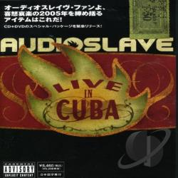 Audioslave - Live In Cuba CD Cover Art