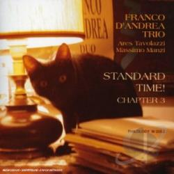 D'Andrea, Franco - Standards of the Big Band Era, Vol. 3 CD Cover Art