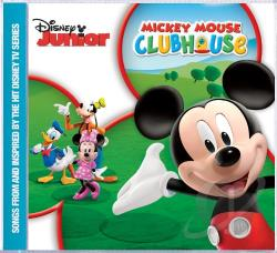 Disney - Disney Junior: Mickey Mouse Clubhouse CD Cover Art