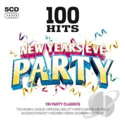 100 Hits: New Years Eve Party CD Cover Art