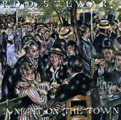 Stewart, Rod - Night On The Town CD Cover Art