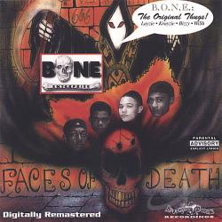 B.O.N.E. Enterprise - Faces of Death CD Cover Art