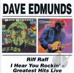 Edmunds, Dave - Riff Raff/I Hear You Rockin' CD Cover Art