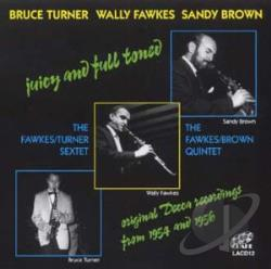 Brown / Fawkes / Turner - Juicy & Fully Toned CD Cover Art