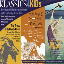 Cactus Pear Music Festival Artists - Klassics 4 Kids CD Cover Art