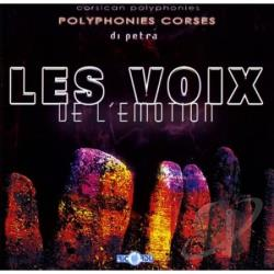 Les Voix de l'Emotion - Di Petra CD Cover Art
