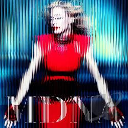 Madonna - MDNA CD Cover Art