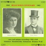 Eweyk, Arthur van - Hugo Wolf Centenary CD Cover Art