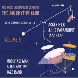 Ashman, Mickey / Bilk, Acker - Radio Luxembourg Sessions 3 CD Cover Art