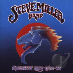 Miller, Steve Band - Greatest Hits 1974-78 CD Cover Art