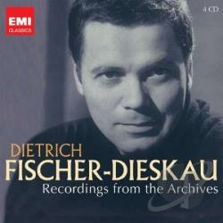 Fischer-Dieskau, Dietrich - Dietrich Fischer-Dieskau: Recordings from the Archives CD Cover Art