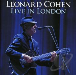 Cohen, Leonard - Live in London CD Cover Art