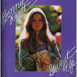 Raitt, Bonnie - Give It Up CD Cover Art