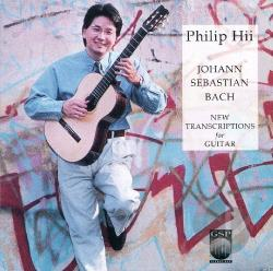 Hii, Philip - Bach: New Transcriptions For Guitar CD Cover Art