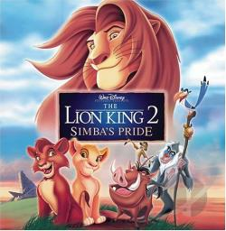 Lion King 2: Simba's Pride CD Cover Art