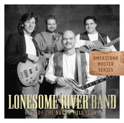 Lonesome River Band - Best of the Sugar Hill Years CD Cover Art