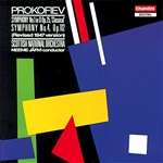 Prokofiev, Sergei - Prokofiev: Symphony No 1 & 4 / J�rvi, Scottish National Orch CD Cover Art