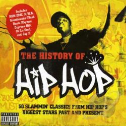 History Of Hip Hop CD Cover Art