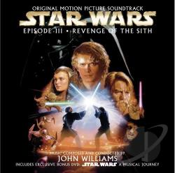 John Williams - Star Wars: Episode III - Revenge of the Sith CD Cover Art