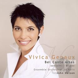 Donizetti / Ensemble Orchestral / Genaux / Rossini - Donizetti, Rossini: Bel canto Arias CD Cover Art