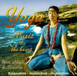 Lana, Wai - Yoga Music of the Heart CD Cover Art