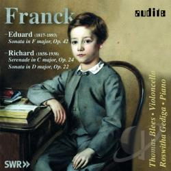 Blees / Franck, E. / Franck, R. / Gediga - Cello Sonatas CD Cover Art
