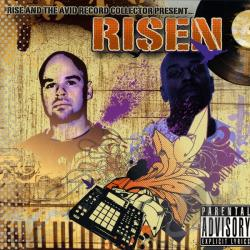 Rise & The Avid Record Collector - Risen CD Cover Art