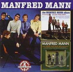Mann, Manfred - Manfred Mann Album/My Little Red Book of Winners CD Cover Art